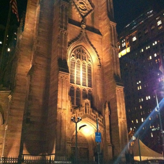 Photo prise au Trinity Church par Aya G. le3/8/2012