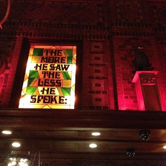 Снимок сделан в The Owl Bar пользователем Megan E. 8/29/2012