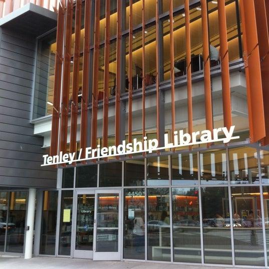 Tenley Friendship Neighborhood Library Tenleytown 4450