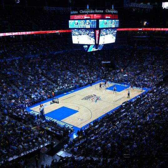 Das Foto wurde bei Chesapeake Energy Arena von MJ O. am 2/24/2012 aufgenommen