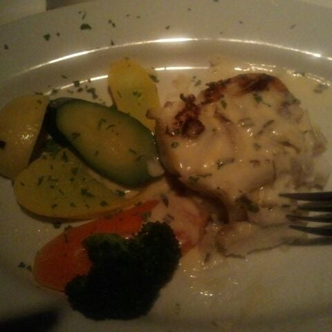 Sea bass is amazing .... 1/2 gone and its only been a few secs... omg