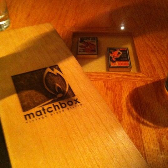 Das Foto wurde bei Matchbox Vintage Pizza Bistro von Coskun C. am 12/7/2011 aufgenommen