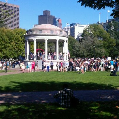 Foto scattata a Boston Common da Manuel R. il 10/10/2011