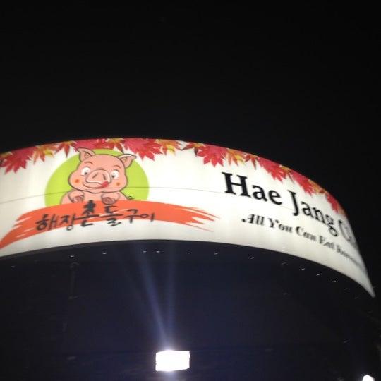 Foto scattata a Hae Jang Chon Korean BBQ Restaurant da Paul A. il 7/16/2012