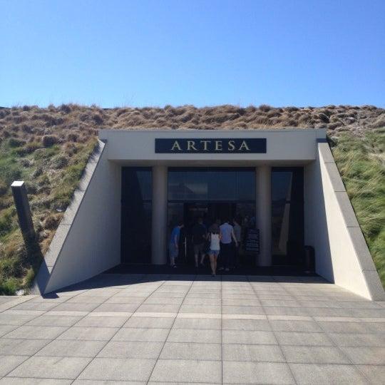 Das Foto wurde bei Artesa Vineyards & Winery von Drew M. am 8/16/2012 aufgenommen