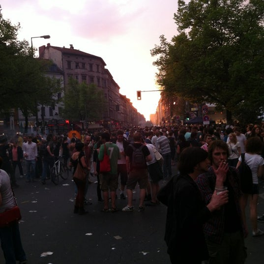 รูปภาพถ่ายที่ Critical Mass Berlin โดย Jessica v. เมื่อ 5/1/2012