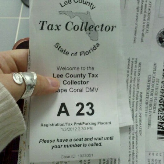 Photos at Lee County Tax Collector - Hancock - 1 tip from
