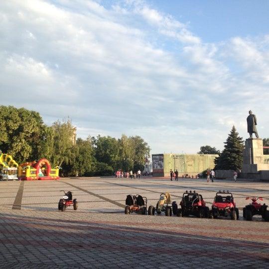 Снимок сделан в Площадь Ленина пользователем Roman L. 7/18/2012