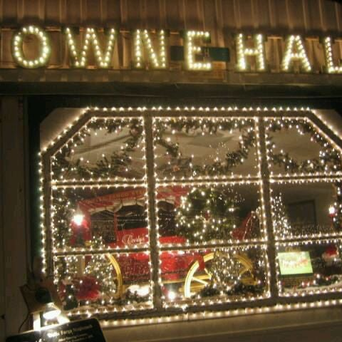 Overlys Country Christmas.Towne Hall At Overly S Country Christmas Event Space In