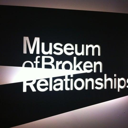 3/9/2012 tarihinde Meryem A.ziyaretçi tarafından Muzej prekinutih veza | Museum of Broken Relationships'de çekilen fotoğraf