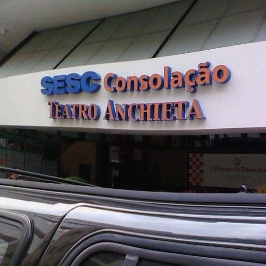 รูปภาพถ่ายที่ Sesc Consolação โดย Wellington D. เมื่อ 2/20/2012