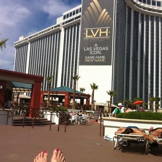 Снимок сделан в LVH - Las Vegas Hotel & Casino пользователем Christina C. 3/30/2012