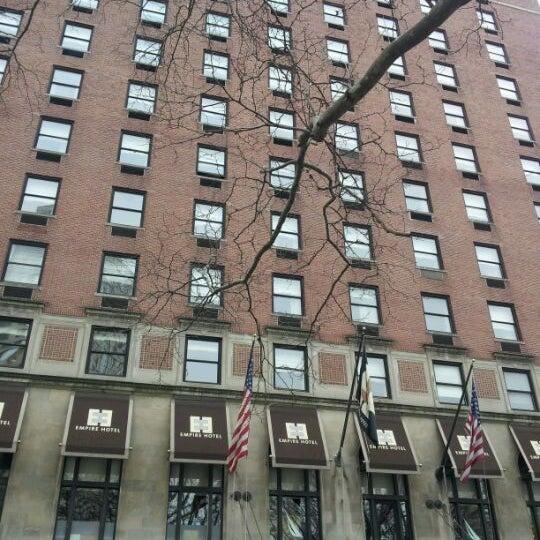2/14/2012에 La Fer @.님이 The Empire Hotel에서 찍은 사진