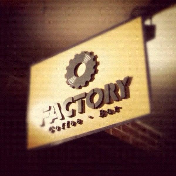 8/5/2012 tarihinde Guilherme H.ziyaretçi tarafından Factory Coffee Bar'de çekilen fotoğraf