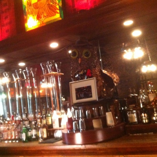 Снимок сделан в The Owl Bar пользователем Rich H. 8/11/2012