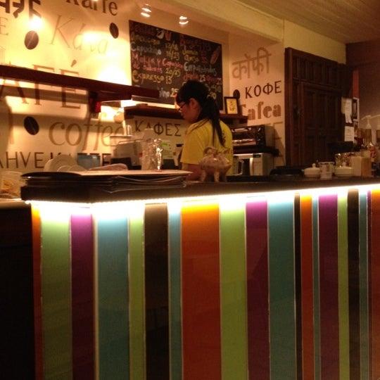 Foto tomada en Café Jaguar Yuú por Luis Felipe S. el 4/10/2012