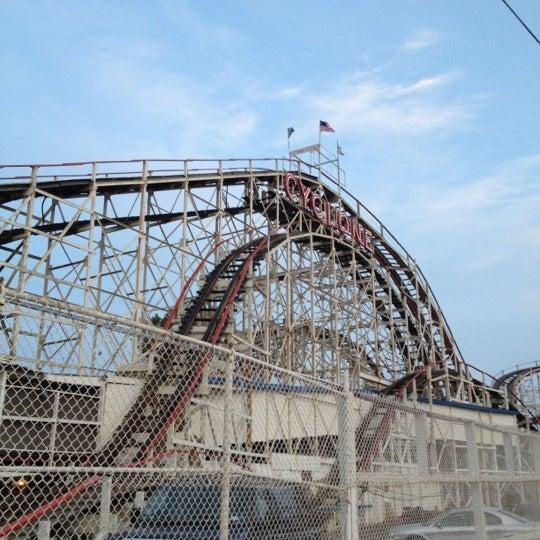 Foto tomada en The Cyclone por David S. el 8/14/2012