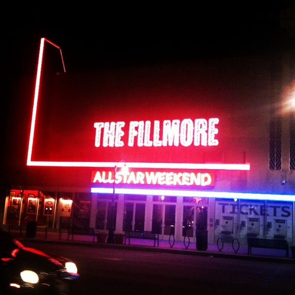 Photo prise au The Fillmore par Marissa M. le2/15/2012