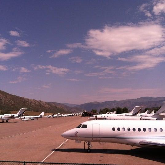 Photo prise au Aspen/Pitkin County Airport (ASE) par Paul R. le7/5/2012