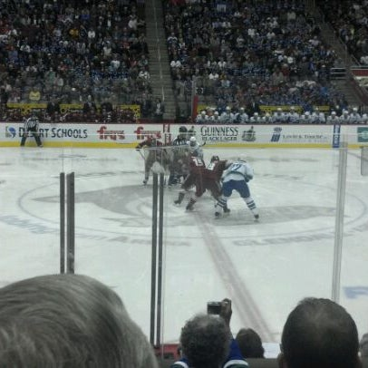 Photo prise au Gila River Arena par Brian P. le2/29/2012