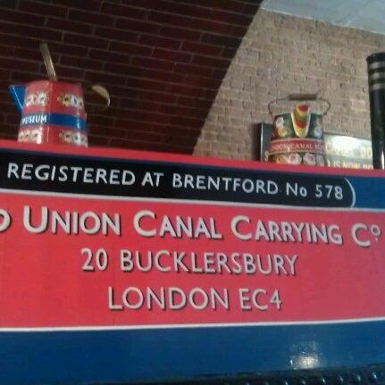 รูปภาพถ่ายที่ London Canal Museum โดย Susanne H. เมื่อ 9/1/2012