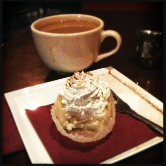 Cupcakes have been hit and miss in the past, but today's eggnog cupcake definitely hit the spot tonight.