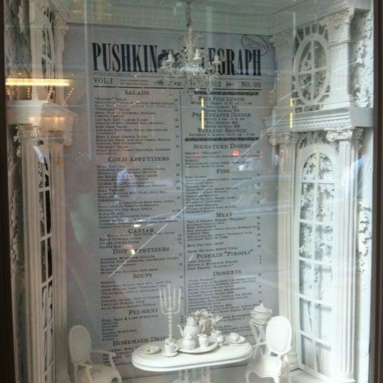 Foto tomada en Brasserie Pushkin por Sandy X. el 7/27/2012
