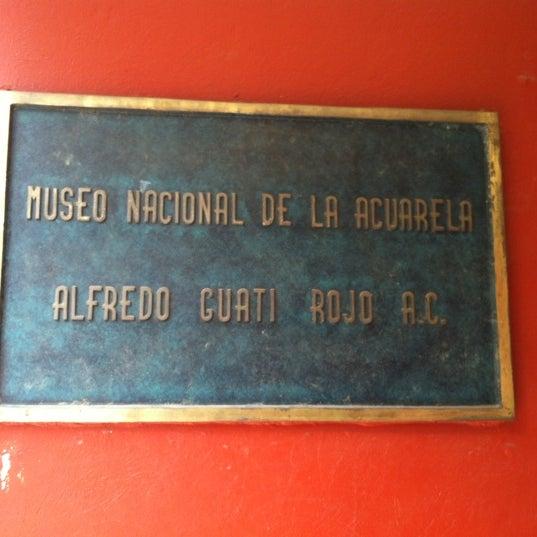 """รูปภาพถ่ายที่ Museo Nacional de la Acuarela """"Alfredo Guati Rojo"""" โดย Priscila S. เมื่อ 9/8/2012"""