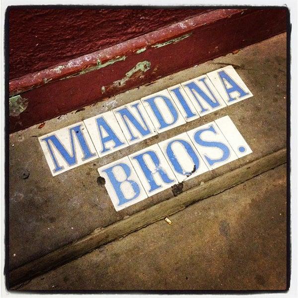 Photo taken at Mandina's Restaurant by michael k. on 4/29/2012