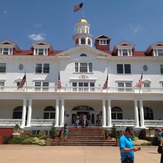 Снимок сделан в Stanley Hotel пользователем Sparky R. 7/13/2012