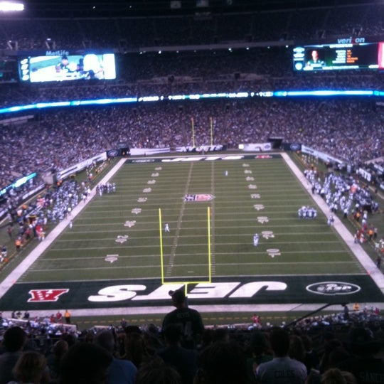 รูปภาพถ่ายที่ MetLife Stadium โดย Bruce B. เมื่อ 9/2/2011