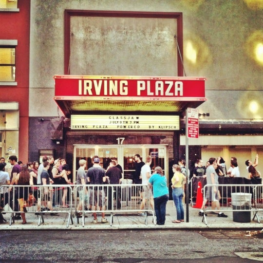 Photo prise au Irving Plaza par @irabrianmiller le7/8/2012