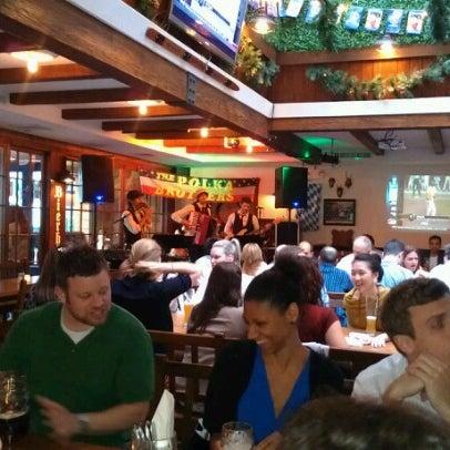 Foto diambil di Hofbräu Bierhaus NYC oleh Kim Y. pada 6/27/2012