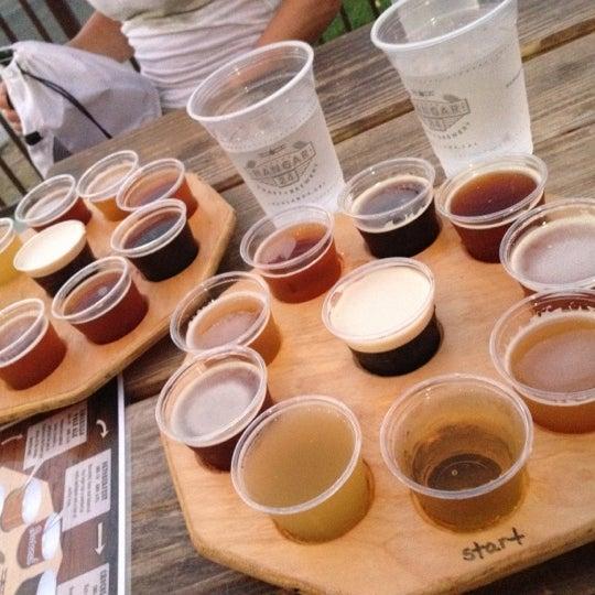Definitely try the beer flight!