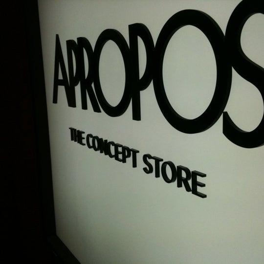Photo taken at Apropos by Sascha B. on 6/11/2011