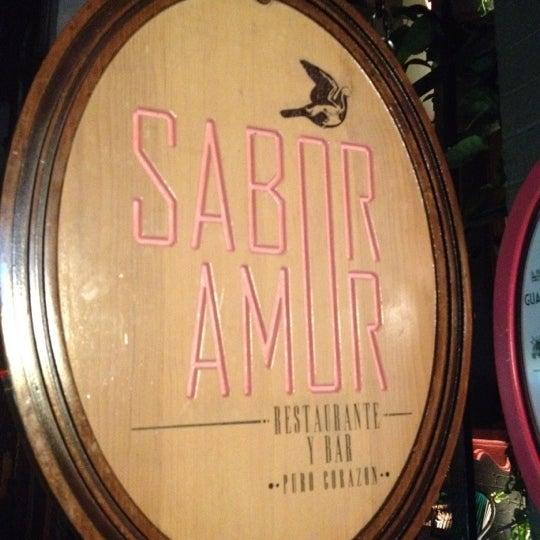 Das Foto wurde bei Sabor Amor von Roberto C. am 7/22/2012 aufgenommen