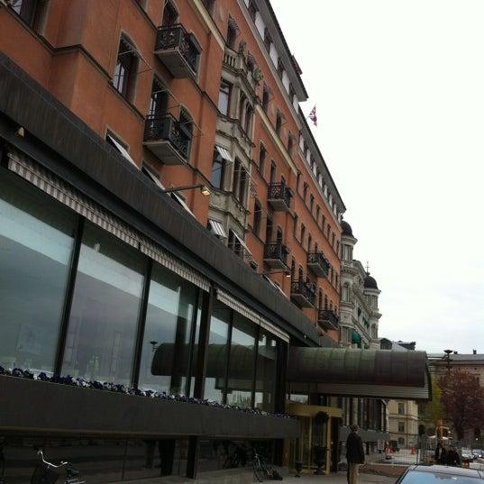 Foto tirada no(a) Grand Hôtel Stockholm por Nick B. em 5/16/2012