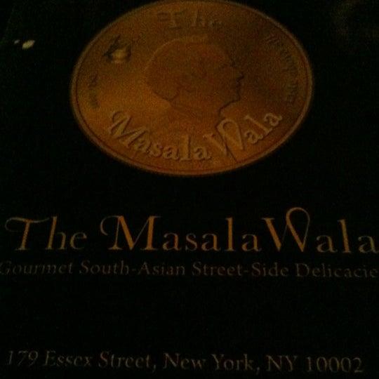 Foto tirada no(a) The MasalaWala por Andrew C. em 2/26/2012