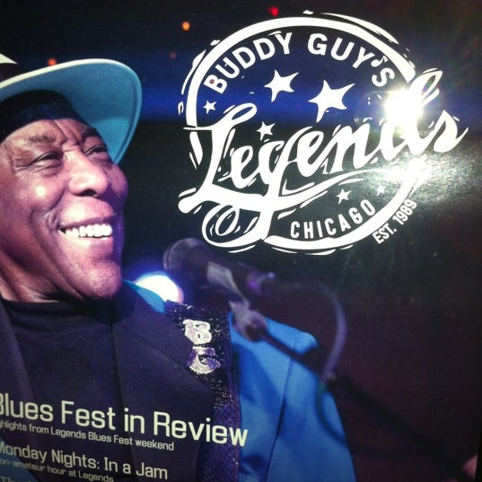 Foto tirada no(a) Buddy Guy's Legends por Steve T. em 11/6/2011