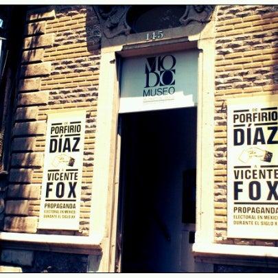 Das Foto wurde bei MODO Museo del Objeto del Objeto von Tania S. am 7/27/2012 aufgenommen