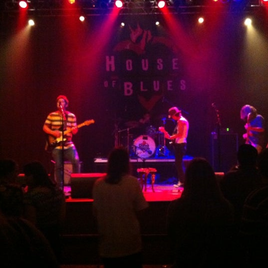 Foto tirada no(a) House of Blues San Diego por Bianca P. em 6/2/2012