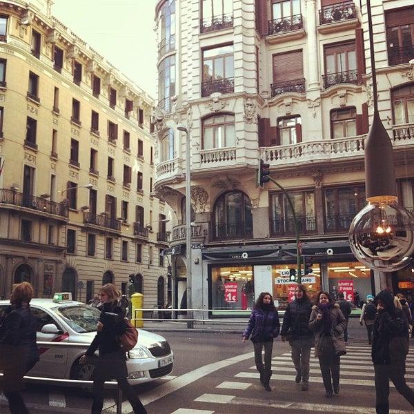 Foto scattata a Hotel de las Letras da Aleyda S. il 2/4/2012