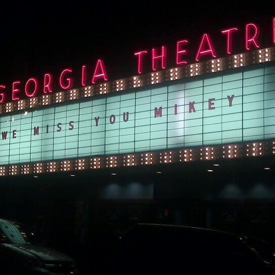 Das Foto wurde bei Georgia Theatre von Panic Mama am 8/11/2012 aufgenommen