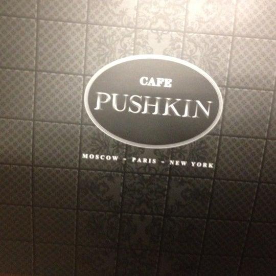 Foto tomada en Brasserie Pushkin por Yomaylin F. el 6/11/2012
