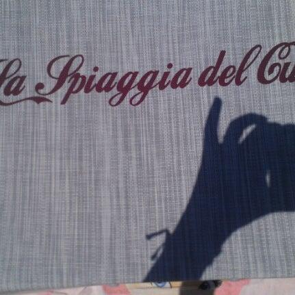6/23/2012에 Daniela D.님이 La Spiaggia Del Cuore 110에서 찍은 사진