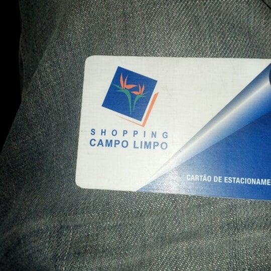 Das Foto wurde bei Shopping Campo Limpo von Renato D. am 9/9/2012 aufgenommen