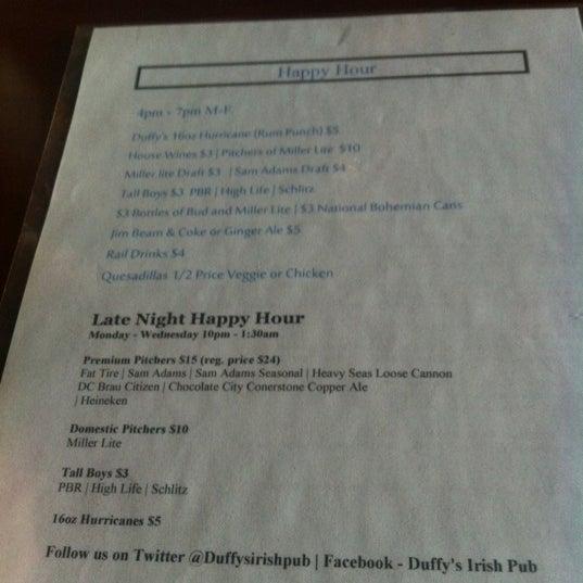 Foto tomada en Duffy's Irish Pub por John S. el 5/16/2012