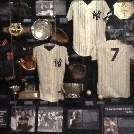 6/9/2012 tarihinde Rick L.ziyaretçi tarafından National Baseball Hall of Fame and Museum'de çekilen fotoğraf