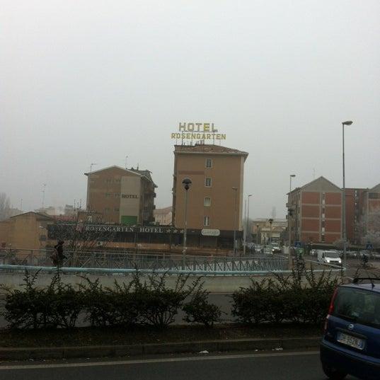 Das Foto wurde bei Hotel Rosengarten Pavia von MagmediaLab am 1/18/2012 aufgenommen