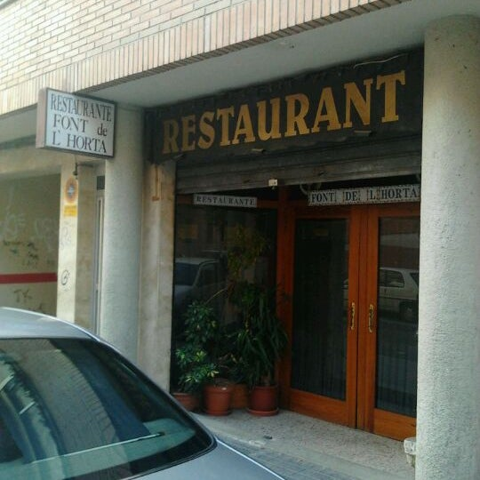 Restaurante Font De L Horta Mediterranean Restaurant In Alcoi